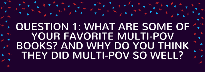 Roundtable #4: Multiple POVs – Writer's Block Party